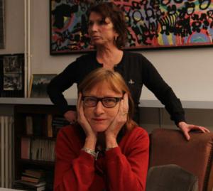 Carole Equer-Hany et Martine Schemana