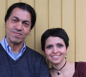 Maryam Ebrahimi et Nima Sarvestani