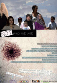 Not who we are, Documentaire de Carol Mansour