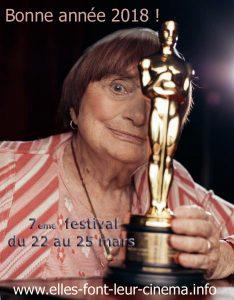voeux 2018, Agnès Varda