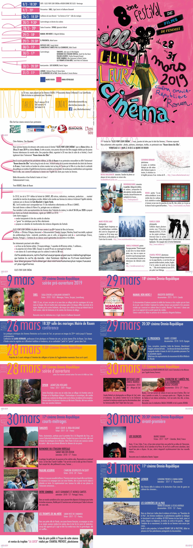le programme en 2019